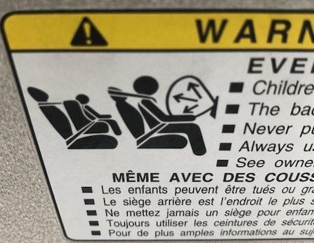 air bag injuries